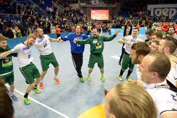 "SC DHfK Leipzig: Christian Prokop ""Sensation mit souveräner Leistung"" - Foto: Rainer Justen"