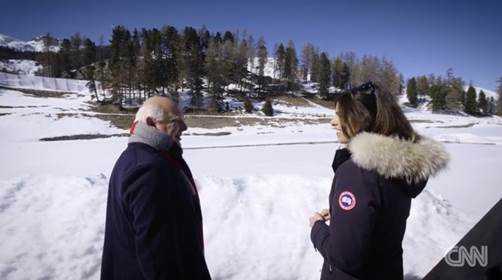 Der Besitzer des Olympiagelaendes Rolf Sachs - Foto: CNN International Alpine