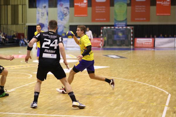 HC Empor Rostock verliert gegen TUSEM Essen schwaches Zweitliga-Spiel - Julius Heil - Foto: HC Empor Rostock