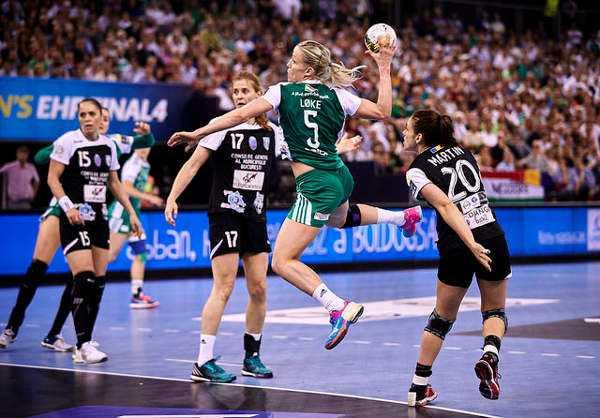 Handball Champions Legue: Györi Audi ETO KC drehte bei CSM Bukarest Top-Match 131