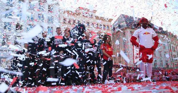 Deutsche Bundesliga, RasenBallsport Leipzig (RB Leipzig) - Foto: GEPA pictures/Roger Petzsche