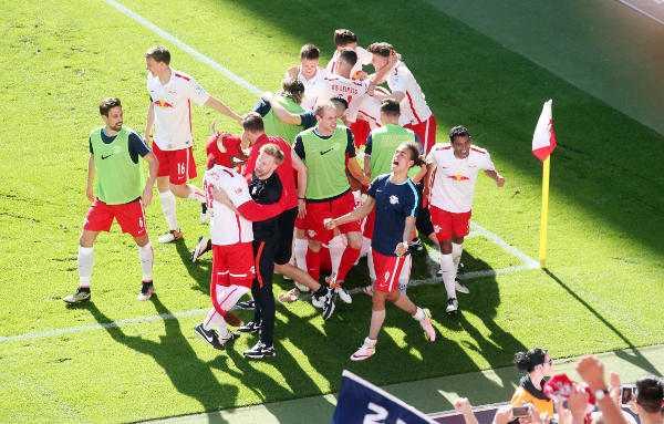Deutsche Bundesliga, RasenBallsport Leipzig vs. Karlsruher SC - RB Leipzig - Foto: GEPA pictures/Sven Sonntag