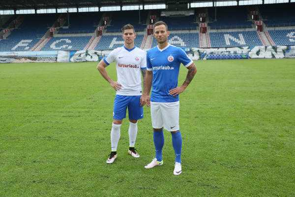 FC Hansa Rostock: Neue Trikots für 2016/2017 - Foto: F.C. Hansa Rostock
