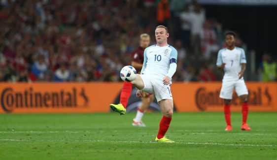 Wayne Rooney – Fussball EM 2016: Aktion während der UEFA EURO 2016 Gruppe B - Spiel zwischen England und Russland am 11. Juni 2016 in Marseille, Frankreich. Foto: Lars Baron / Getty Images