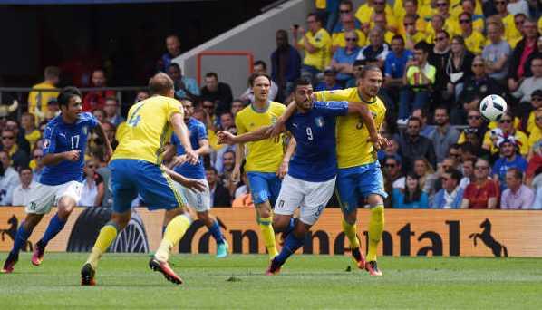 Em 2021 Italien Schweden