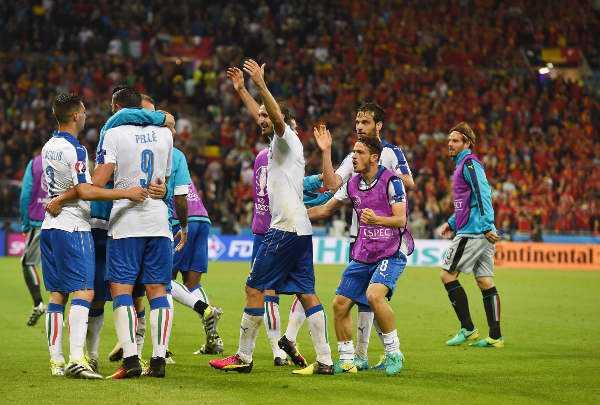 Fussball EM 2016: Italien bezwang Belgien mit effizienter Team-Spielweise 7