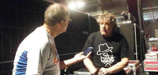 """Puhdys Rocklegende Dieter """"Quaster"""" Hertrampf im SPORT4FINAL-Interview: """" Sportverein wollte nicht mit uns Fußball spielen"""" - Foto: SPORT4FINAL"""