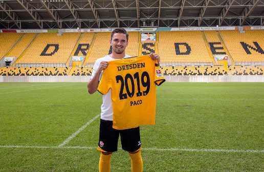 Dynamo Dresden verlängerte mit Pascal Testroet - Foto: Dynamo Dresden