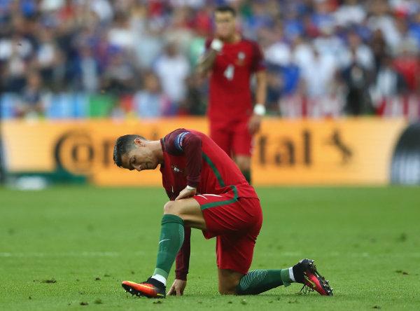 Cristiano Ronaldo (Portugal) – Fussball EM 2016: UEFA EURO 2016 Endspiel zwischen Portugal und Frankreich im Stade de France am 10. Juli 2016 in Paris, Frankreich. Foto: Lars Baron / Getty Images