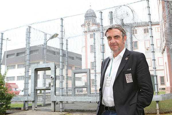 Dynamo Dresden: Ralf Minge besuchte JVA Waldheim - Foto: Carsten Kobow/Sepp Herberger Stiftung