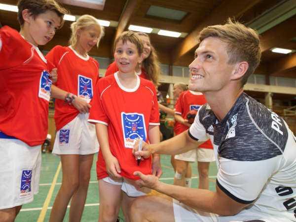 Rune Dahmke - THW Kiel, star und Handball-Camp mit Förderprojekt THW-YOUNGstar - Foto: THW Kiel