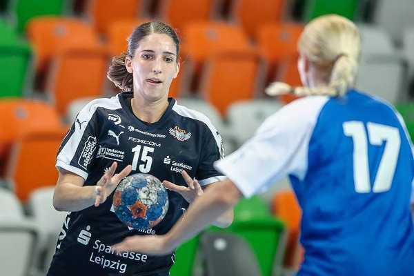 Tamara Bösch - HC Leipzig vor Metz Handball und Thüringer HC im Supercup - Foto: Sebastian Brauner