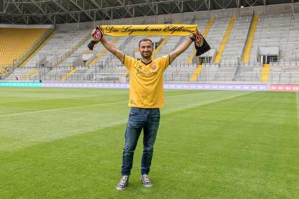 Dynamo Dresden leiht Akaki Gogia aus - Foto: Dynamo Dresden/ Steffen Kuttner