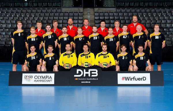 Olympia Rio 2016 Handball: Nationalmannschaft Deutschland (DHB) - Foto: Marco Wolf/DHB