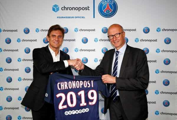 Paris Saint-Germain: Chronopost neuer Partner - Foto: Paris Saint-Germain