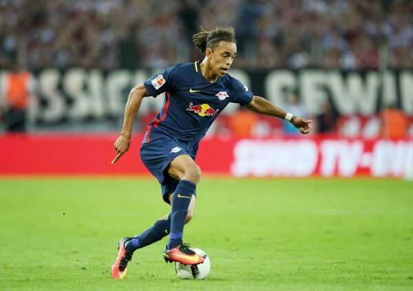Deutsche Bundesliga, 1. FC Köln vs. RasenBallsport Leipzig - Yussuf Poulsen (RB Leipzig) - Foto: GEPA pictures/Roger Petzsche