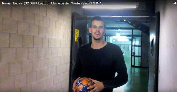 "Roman Becvar (SC DHfK Leipzig) im SPORT4FINAL-Video-Interview: ""Meine besten Würfe"" - Foto: SPORT4FINAL"