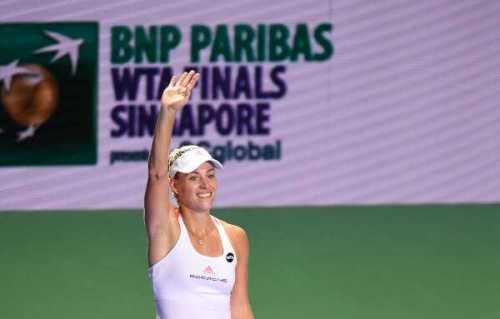 """Angelique Kerber krönte """"Traumjahr"""" mit WTA Finale in Singapur - Foto: Porsche AG"""