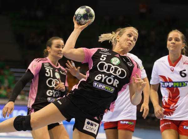 Heidi Löke - Györi Audi ETO KC mit Kantersieg gegen Budaörs Handball - Foto: Anikó Kovács und Tamás Csonka (Györi Audi ETO KC)