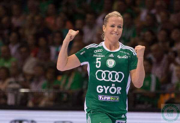 Heidi Löke - Handball Champions Legue: Györi Audi ETO KC demütigte CSM Bukarest - Foto: Anikó Kovács und Tamás Csonka (Györi Audi ETO KC)