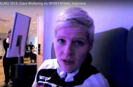 Handball EM 2016: Clara Woltering im SPORT4FINAL-Interview - Foto: SPORT4FINAL