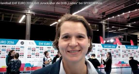 "Handball EM 2016: Grit Jurack über die DHB-""Ladies"" im SPORT4FINAL-Video - Foto: SPORT4FINAL"