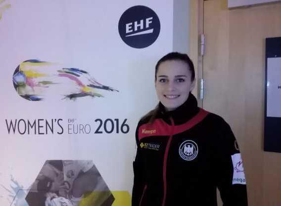 "Handball EM 2016 Frauen: Deutschlands ""Ladies""-Torhüterin Dinah Eckerle im SPORT4FINAL-Interview - Foto: SPORT4FINAL"