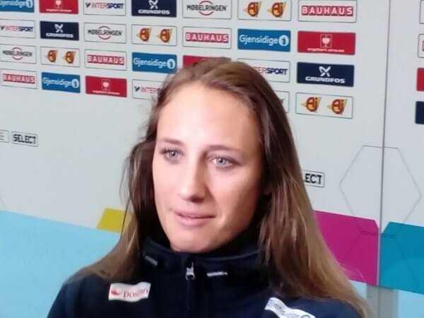 """Handball EM 2016: Camilla Herrem (Norwegen) """"Favorit sind wir nicht"""" - Foto: SPORT4FINAL"""