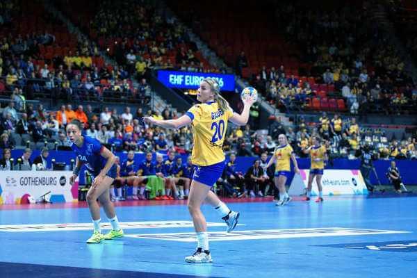Handball EM 2016: Isabelle Gullden. Frankreich schlug Schweden. - Foto: Peter Jansen
