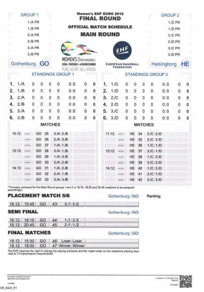 handball em finale 2019