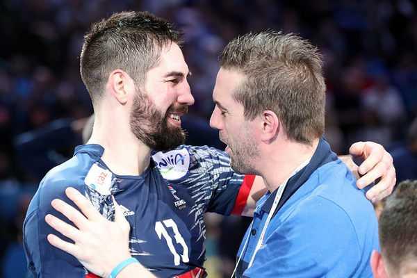 Nikola Karabatic und Guillaume Gille (Frankreich) - Handball WM 2017: Frankreich mit sechstem Weltmeister-Stern - Foto: France Handball