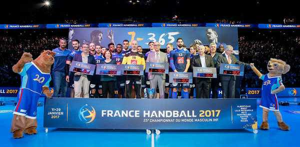 """Equipe Tricolore"" - Frankreich - Handball WM 2017: Die SPORT4FINAL-Favoriten der Weltmeisterschaft - Foto: France Handball"