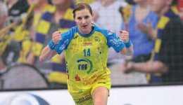 HC Leipzig: Karolina Kudlacz-Gloc mit Nachwuchs im Juni 2017