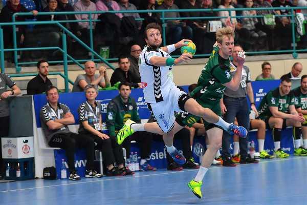 Andreas Rojewski - SC DHfK Leipzig unterlag GWD Minden - Foto: Rainer Justen