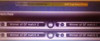 Handball EHF-Cup Frauen: Viertelfinale und Halbfinale. Auslosung - Foto: EHF Media