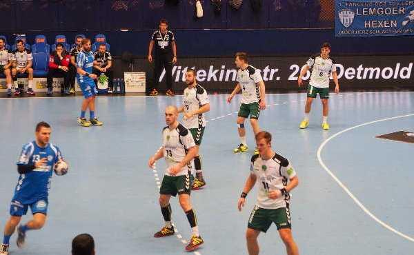 SC DHfK Leipzig mit verdientem Remis beim TBV Lemgo - Foto: John Wieden / SC DHfK Leipzig