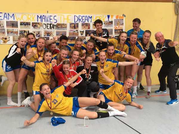 HC Leipzig: B-Jugend ist Deutscher Meister - Foto: HC Leipzig
