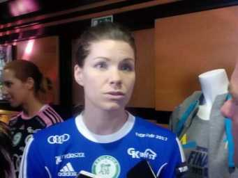 Handball Frauen EHF Champions League: Kari Aalvik Grimsbö (Györi Audi ETO KC) im SPORT4FINAL-Interview - Foto: SPORT4FINAL