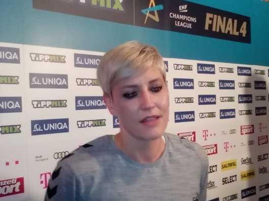"Handball EHF Champions League Final4: Anja Althaus ""Mein letztes großes Finale"". Stimmen 72"