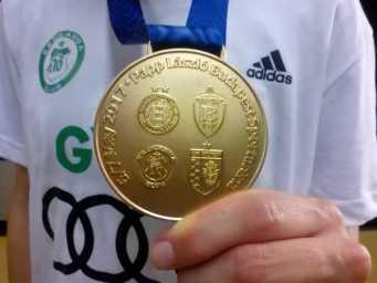 Sieger Györi Audi ETO KC Goldmedaille - Handball EHF Final4 Budapest 2017 - Foto: SPORT4FINAL