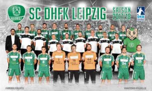 SC DHfK Leipzig - Saison 2017-2018 - Handball Bundesliga - Foto: Rainer Justen