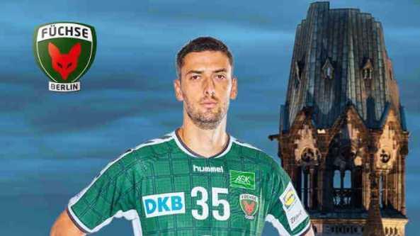 Marko Kopljar - Handball Bundesliga - Foto: Füchse Berlin