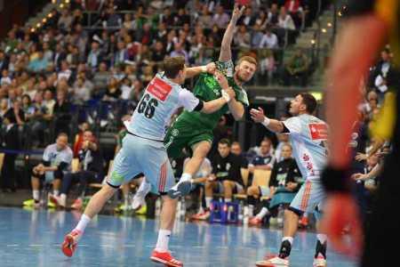 Philipp Weber - SC DHfK Leipzig vs. TSV Hannover-Burgdorf - Handball Bundesliga - Foto: Rainer Justen