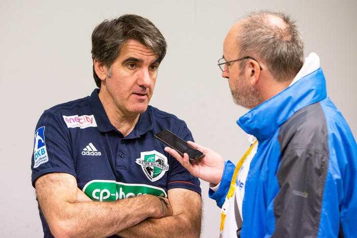 Carlos Ortega - TSV Hannover-Burgdorf - Handball Bundesliga - Interview mit SPORT4FINAL-Redakteur Frank Zepp - Foto: Karsten Mann