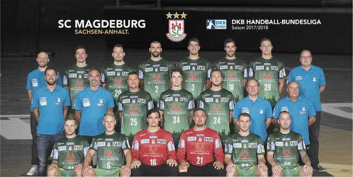 SC Magdeburg - Handball Bundesliga - DHB Pokal - REWE Final Four - Saison 2017-2018 - Foto: SC Magdeburg