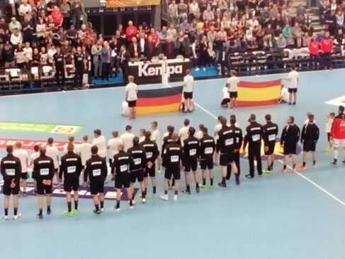 Handball DHB bad boys - Testspiel Deutschland vs. Spanien am 28. Oktober 2017 in der Getec Arena Magdeburg - Foto: SPORT4FINAL