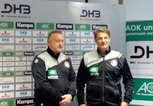 Michael Biegler - Jan Holpert - DHB Handball Bundestrainer - Handball Ladies Nationalmannschaft - Foto: SPORT4FINAL