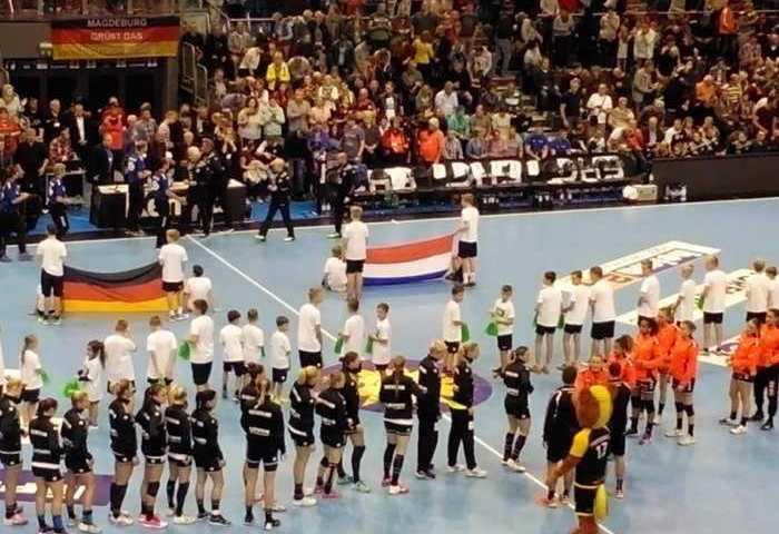 Handball DHB Ladies - Deutschland vs. Niederlande am 28.10.2017 in Magdeburg - Foto: SPORT4FINAL
