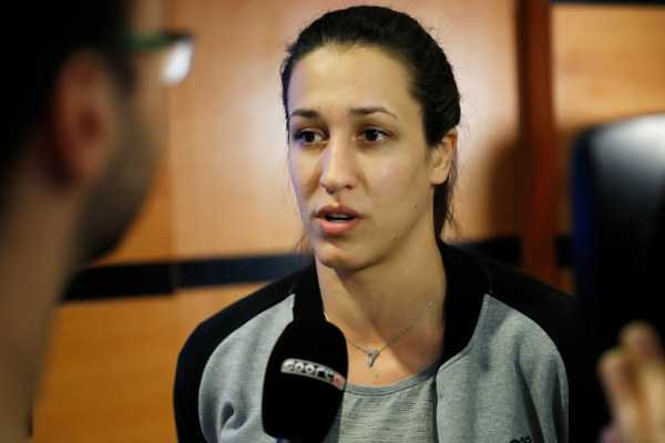 Andrea Lekic - Handball EHF Final4 Halbfinale - Media Call - Foto: Uros Hocevar
