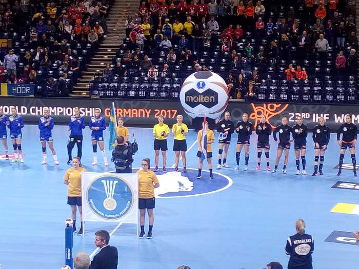 Handball WM 2017 Deutschland - Bronzemedaillen-Match Niederlande vs. Schweden - Foto: SPORT4FINAL